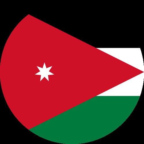 Download free vector flags of Jordan at VectorFlags.com