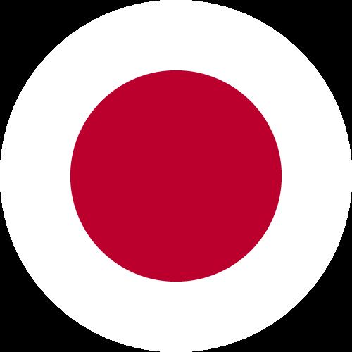 Free Vector Flag of jp-circle-01