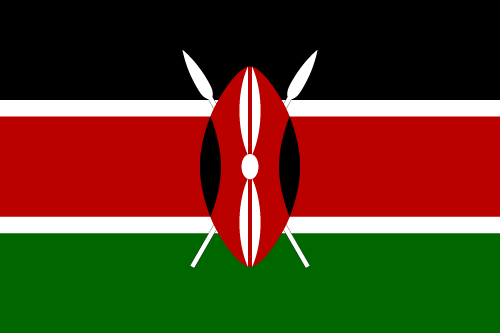 Download free vector flags of Kenya at VectorFlags.com