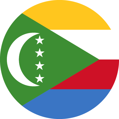 Download free vector flags of the Comoros at VectorFlags.com