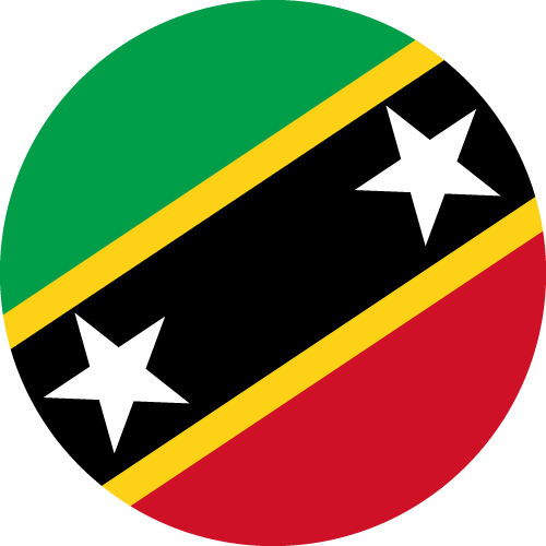 Download free vector flags of Saint Kitts and Nevis at VectorFlags.com