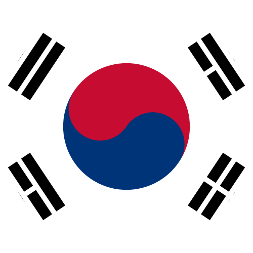 Free Vector Flag of kr-circle-01