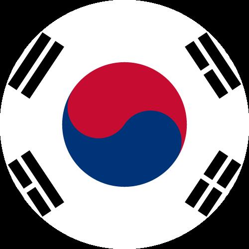 Free Vector Flag of kr-circle-01
