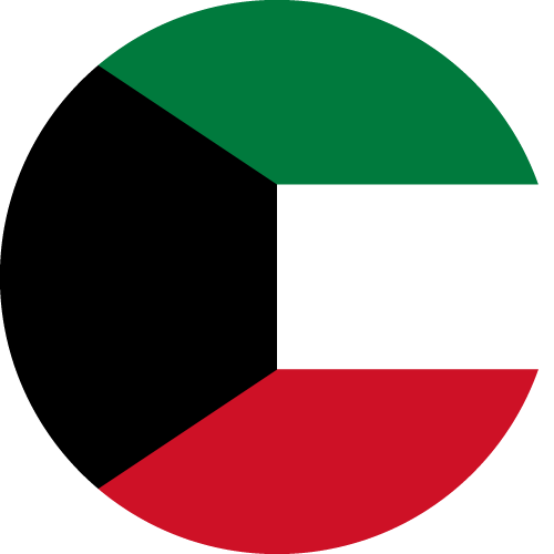 Download free vector flags of Kuwait at VectorFlags.com