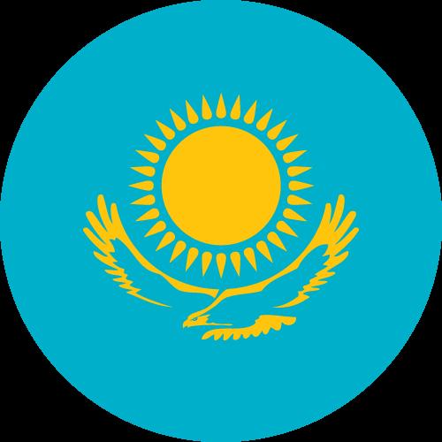 Download free vector flags of Kazakhstan at VectorFlags.com
