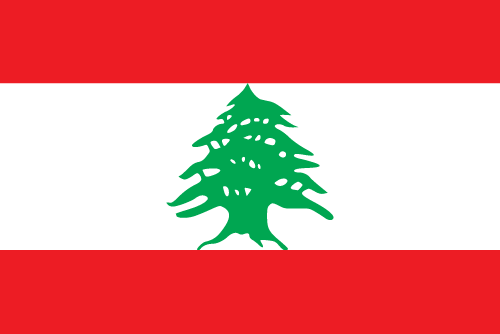 Download free vector flags of Lebanon at VectorFlags.com