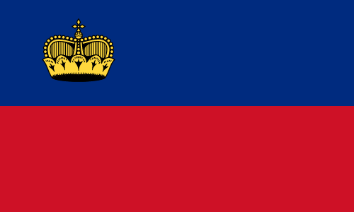Download free vector flags of Liechtenstein at VectorFlags.com