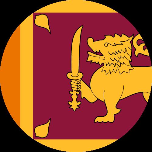 Download free vector flags of Sri Lanka at VectorFlags.com