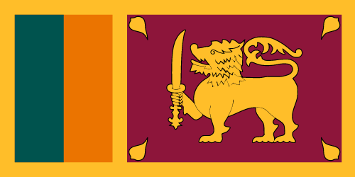 Download free vector flags of Sri Lanka at VectorFlags.com