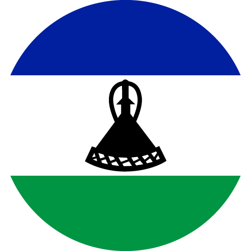 Download free vector flags of Lesotho at VectorFlags.com