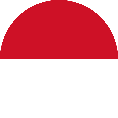 Download free vector flags of Monaco at VectorFlags.com