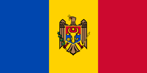 Download free vector flags of Moldova at VectorFlags.com