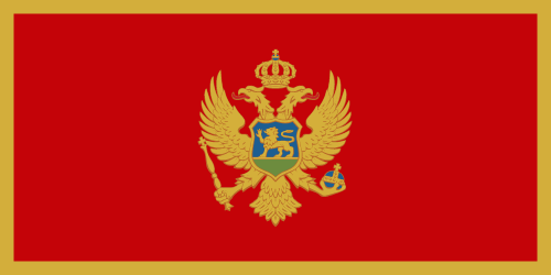 Download free vector flags of Montenegro at VectorFlags.com
