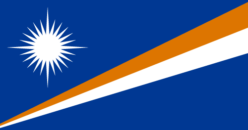 Download free vector flags of the Marshall Islands at VectorFlags.com