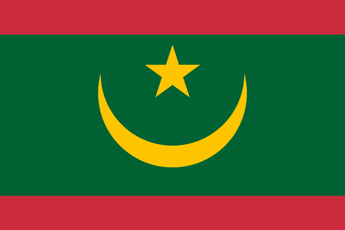 Download free vector flags of Mauritania at VectorFlags.com