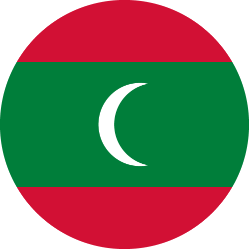 Download free vector flags of the Maldives at VectorFlags.com