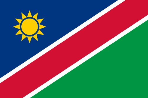 Download free vector flags of Namibia at VectorFlags.com