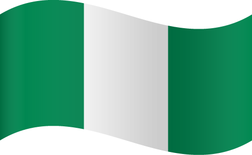 Vector Country Flag Of Nigeria Waving Vector World Flags