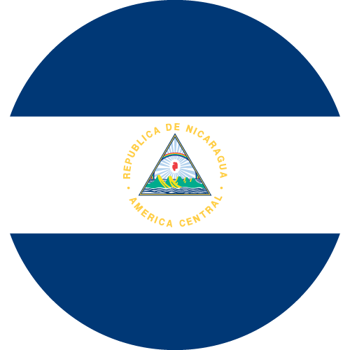 Download free vector flags of Nicaragua at VectorFlags.com