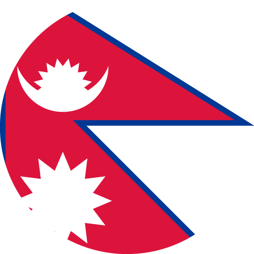 Download free vector flags of Nepal at VectorFlags.com
