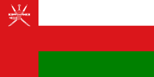 Download free vector flags of Oman at VectorFlags.com