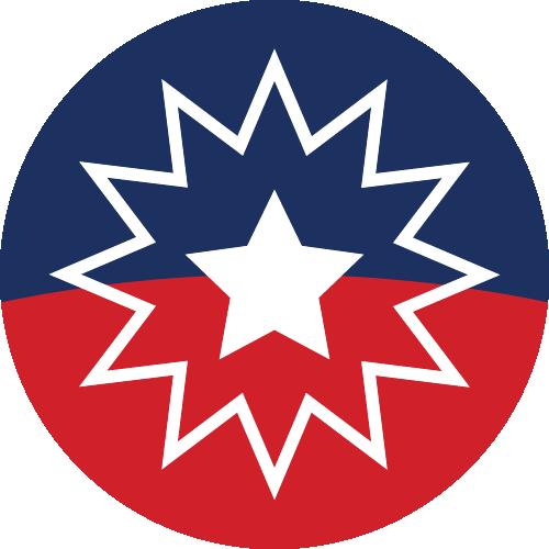 Free Vector Flag of org-jun-circle-01