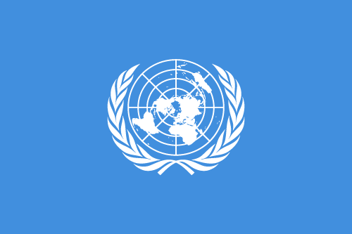 Free Vector Flag of org-un-flag-01