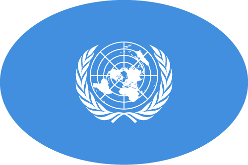 Free Vector Flag of org-un-oval-01