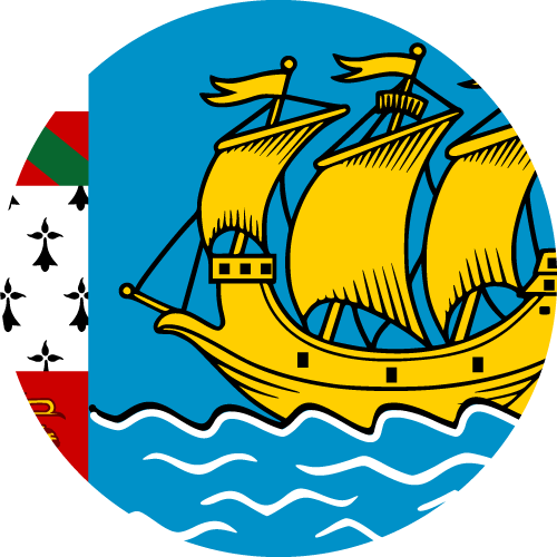 Download free vector flags of Saint Pierre and Miquelon at VectorFlags.com