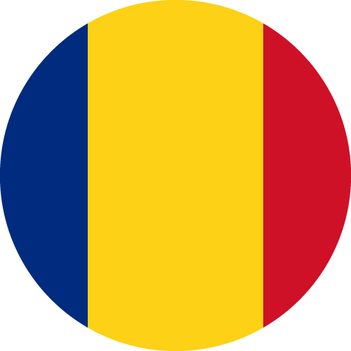 Vector Country Flag of Romania - Circle | Vector World Flags