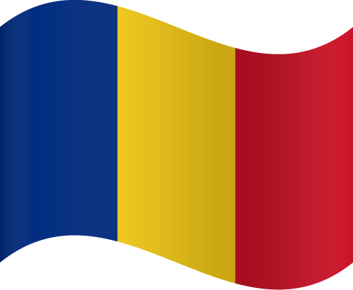 Vector Country Flag of Romania - Waving | Vector World Flags