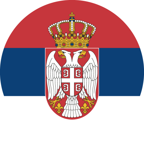 Download free vector flags of Serbia at VectorFlags.com