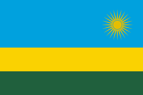 Download free vector flags of Rwanda at VectorFlags.com