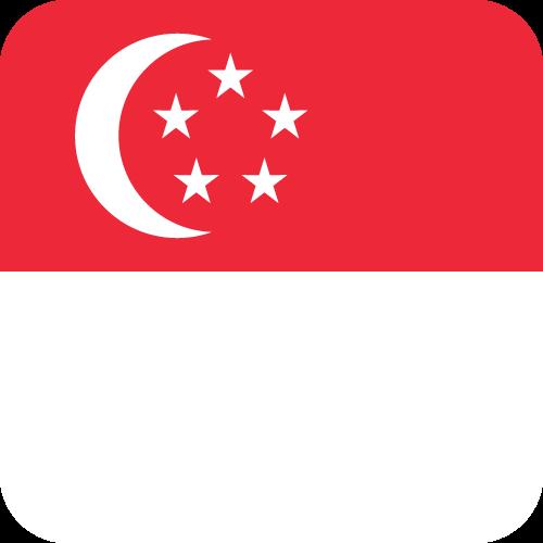Free Vector Flag of sg-button-01