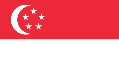 Download free vector flags of Singapore at VectorFlags.com