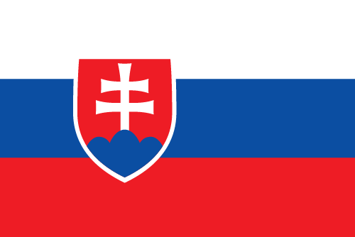 Download free vector flags of Slovakia at VectorFlags.com