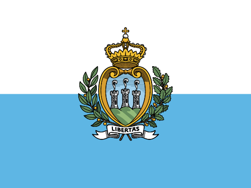 Download free vector flags of San Marino at VectorFlags.com