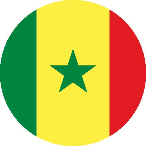 Download free vector flags of Senegal at VectorFlags.com