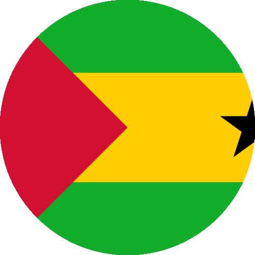 Download free vector flags of São Tomé and Príncipe at VectorFlags.com