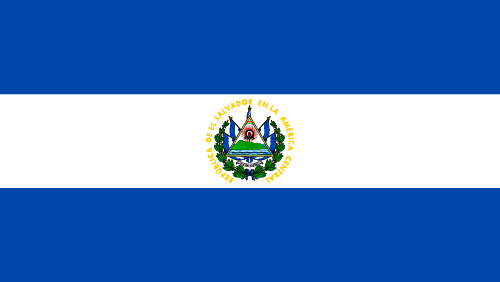 Download free vector flags of El Salvador at VectorFlags.com