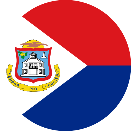 Download free vector flags of Sint Maarten at VectorFlags.com