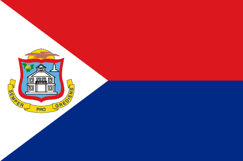 Download free vector flags of Sint Maarten at VectorFlags.com