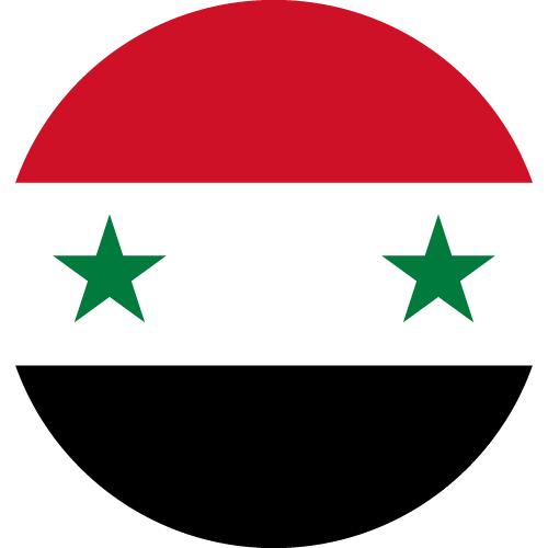 Download free vector flags of Syria at VectorFlags.com
