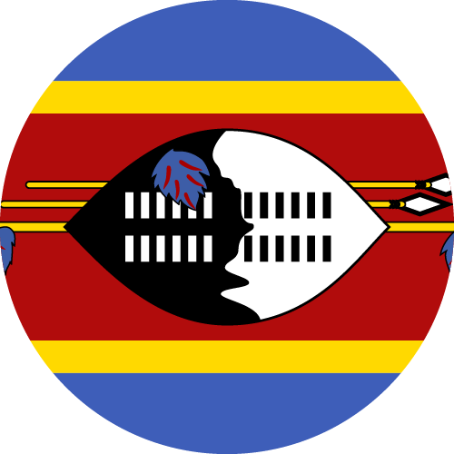 Download free vector flags of Swaziland at VectorFlags.com