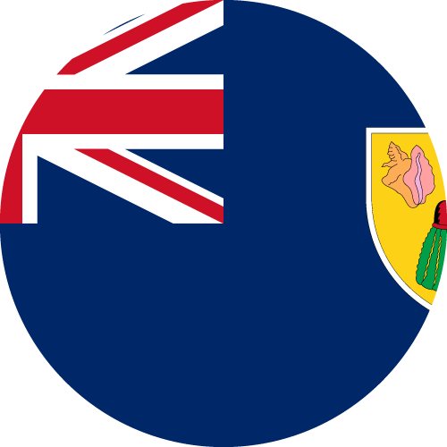 Download free vector flags of Turks and Caicos Islands at VectorFlags.com