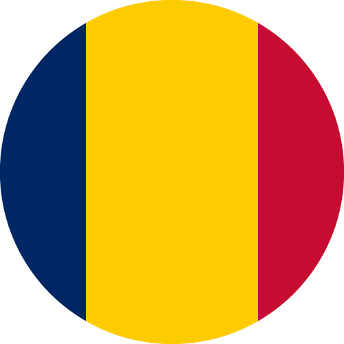 Download free vector flags of Chad at VectorFlags.com