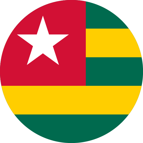 Download free vector flags of Togo at VectorFlags.com
