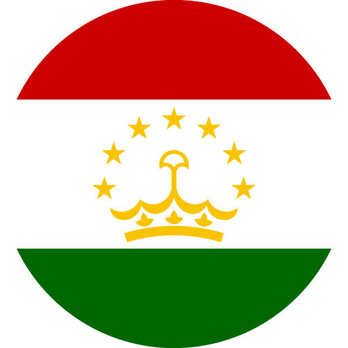 Download free vector flags of Tajikistan at VectorFlags.com