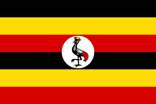 Download free vector flags of Uganda at VectorFlags.com