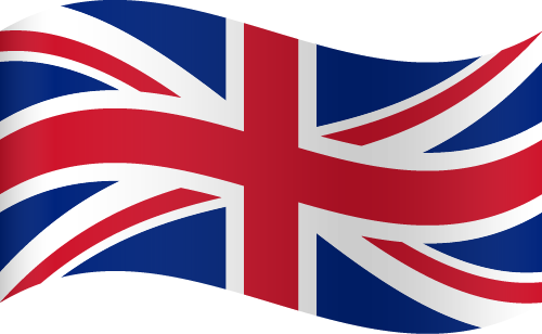 Free Vector Flag of uk-wave-01